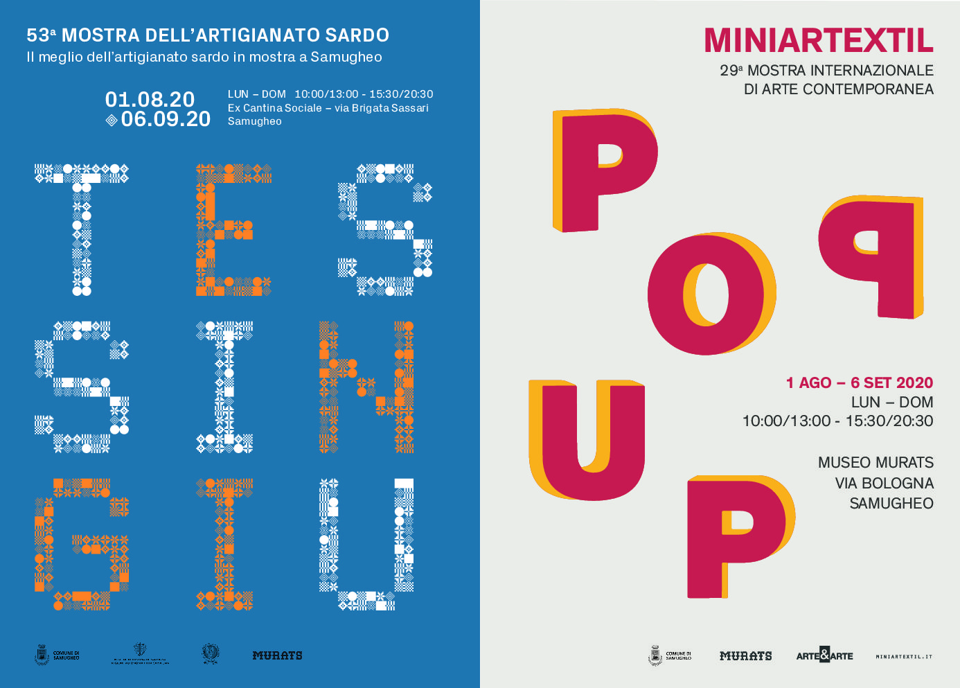 TESSINGIU_Mostra dell'artigianato Sardo – Miniartextil_Pop Up